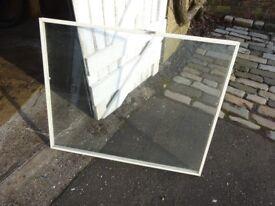 Plastic Coated Metal Framed Windows.