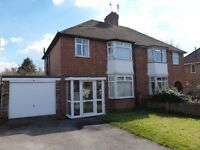 Leamington Spa*3 Bed Semi*Unfurnished + Kitchen Appliances*£1045pcm*Available 3/12/16*Gas C Heating