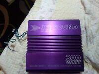 stereo amplifier jet sound js 5020 300 watt