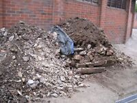 Subsoil, rubble, hardcore - free to collect