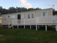 Caravan to rent in Dawlish Warren Devon Golden Sands 8 Berth Sleeps 8