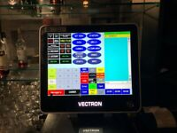 Vectron 27 inch 1 year old EPOS with cash drawer and 2 prints latest model