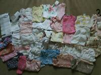 BIG bundle baby girl clothes 0-3 months
