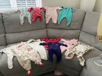 Baby clothes selection