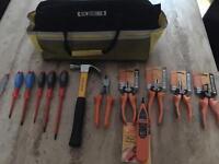 Kew Technik tool bag & accessories