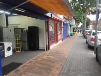 Vacant Shop A1 to let for rent empty shop or appliances business