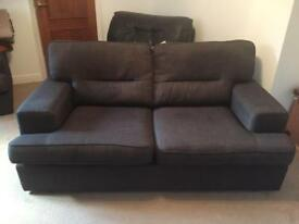 DFS 2 seater sofa and chair