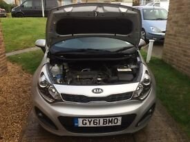Kia Rio 3 2011 1.4 Manual Petrol 19000 miles Silver Alloys One owner from new, Full Service History