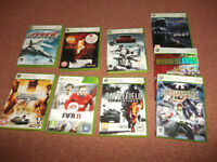 ♥ 9 x XBOX 360 Games ‹(◕‿◕)› £5 the lot