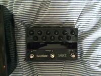 Eventide Reverb Space effects pedal, like new, guitar, synth (Strymon)