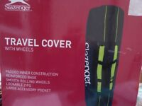 HEAVY DUTY CANVAS GOLF TRAVEL COVER