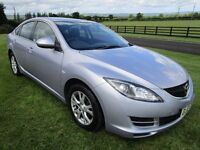2008 MAZDA 6 2.0d TS ### ONE LADY OWNER ### 72000 MILES ### 12 MONTHS MOT AUGUST 2008 ###