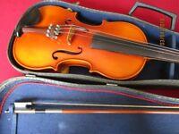 Anton Klier full size violin.