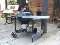 Weber charcoal barbeque bbq