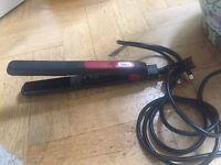 Nicky Clarke Tourmaline Hair Straighteners Anti Frizz ONLY £10