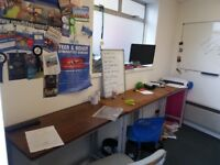 PRICE REDUCTION - £315 all in for 1 - 2 person office with storage in Kingston