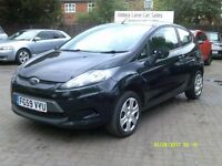 Ford Fiesta 1.4 TDCi Style + 3dr 2009 (59 REG), 2 OWNERS, BLACK, 90,000 MILES, DIESEL, HPI CLEAR