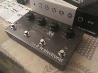 TC Electronics Ditto x4 Looper Guitar Loop Pedal mint condition w/box & adapter