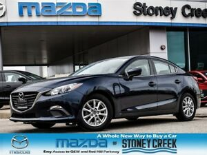 2015 Mazda MAZDA3 GS Auto LOW KM NEW RR Brakes Alloy B/UP Heated