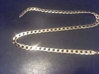 "20"" Solid Gold Curb Chain 30g"