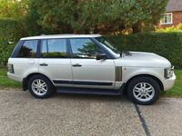 LAND ROVER RANGE ROVER VOGUE TD6 4X4 AUTO SAT-NAV FULL LEATHER PRIVATE PLATE FSH NEW TYRES