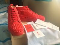 New Christian louboutin shoes in red size 7 and 7.5