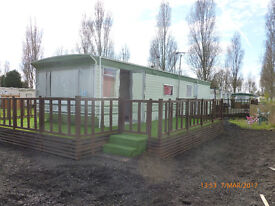 Static caravan to rent on holiday site long term till December1st