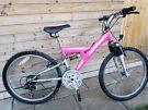 Girls Full Suspension Mountain Bike - Great Condition