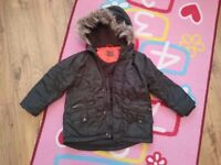 boys winter coat aged 4-5 years old