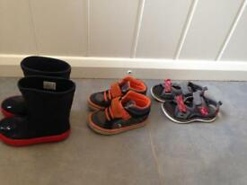 Boy toddler shoes & wellies