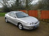 2001 on private plate Hyundai coupe 2ltr - 11 months mot poss swap