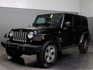 2016 Jeep WRANGLER UNLIMITED UNLIMITED SAHARA 4X4 A/C MAGS NAVI