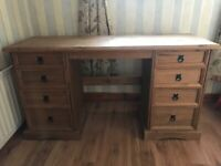 Mexican Pine Solid Wood Dressing Table/Dresser