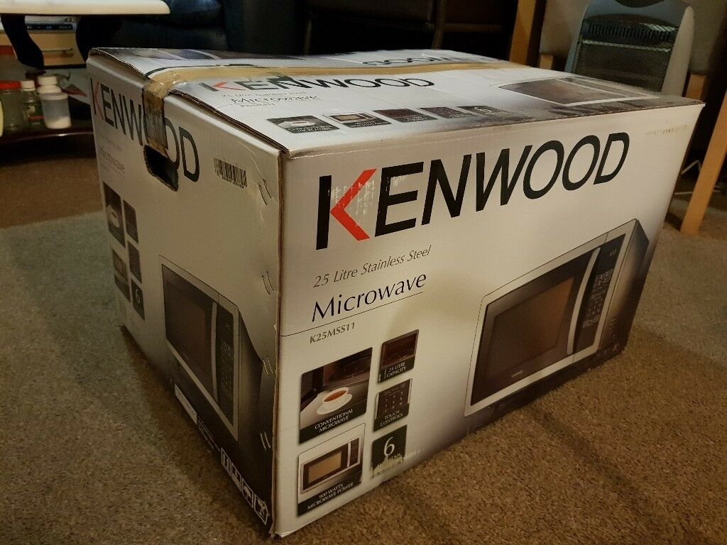 BRAND NEW BOXED, FACTORY SEALED -KENWOOD K25MSS11 Microwave