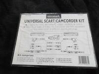 universal scart / camcorder kit