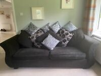 2 x 4 Seater Sofas