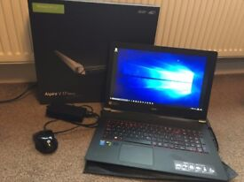 Aspire V 17 Nitro Laptop with Windows 10, original box, mouse and charger. NVIDIA GeForce GTX