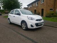 """2016 NISSAN MICRA 1.2 Low mileage only 9,600 miles """" Comes with 6 Months warranty """""""