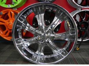 NEW SINGLE 26 INCH CHROME RIM 6X135 + 6X139.7 - SALE ON NOW *SINGLE ONLY*