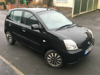 2006/56*KIA PICANTO DATE*1.1 PETROL*ONLY 94000 MILES*6 MONTHS MOT*AIR CON*IDEAL FIRST CAR