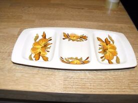 ROYAL WORCESTER PALISSY HORS D'OEUVRE DISH
