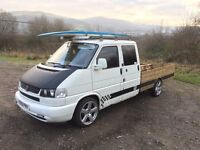 2001 Transporter 2.5TDI Custom Double Cad Pick Up Woody Wagen