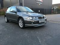 MG ZR 1.4 2004 12 MONTHS MOT VERY SPECIAL CAR 2 KEYS FULL V5 LOOKS AMAZING LOTS OF SERVICE HISTORY