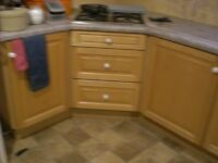 Kitchen units with high quality sold maple doors