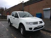 2011 L200 LWB Diesel Pick Up 4Life **NO VAT** low mileage