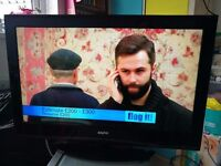 """SANYO 32"""" LCD TV FULL HD 1080P WITH BUILT IN DIGITAL TV IN EXCELLENT CONDITION WITH REMOTE"""
