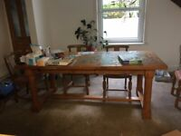 vintage Habitat Dining table 'Pilgrim'