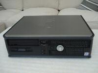 Dell Optiplex GX620 Desktop/Tower PC, Windows 10 Computer Base Unit.