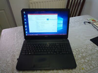 bargain laptop 4gb ram 500gb hdd windows 10 in very good cond reduced to £95 no offers