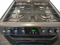BELLING TOP OF THE RANGE DOUBLE OVEN COOKER**BLACK**
